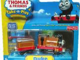外贸 费雪正品盒装托马斯磁性合金小火车玩具车模 双节装 6款