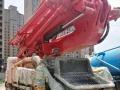 转让 混凝土泵车中联重科33米河南响箭混凝土泵车急售