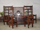 老船木茶台椅组合新中式船木茶桌船木功夫茶几客厅户外阳台泡茶台