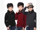 2014新款童装男童毛衣 中大童羊绒衫 儿童羊毛衫 休闲加厚针织衫