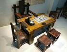 老船木茶桌批发 实木仿古茶几茶台船木功夫泡茶桌客厅