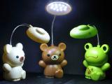 旋转 学生迷你台灯 充电式卡通LED小台灯批发 台灯 创意地摊热