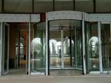 不銹鋼玻璃門制作廠家 旋轉門 自動感應門制作安裝