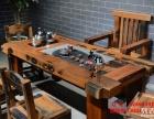 南阳尚亿老船木茶桌椅组合仿古泡茶桌中式明清家具