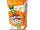 泰国原装 Triple.M 小浣熊海苔卷烤海苔紫菜卷 鱿鱼味