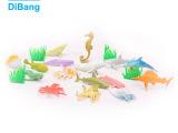 迪邦-0224 鱼类16款2寸海洋世界 仿真儿童识别动物模型塑胶