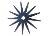 屠宰设备胶棒价格-山东优质玉米剥皮机星轮供应商