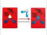 天津防倾倒标签,防倾斜倒置指示标贴tip n tell