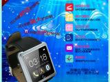 厂家批发爆款蓝牙车载手表真皮防水智能穿戴U10智能手表招商代理