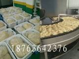 熟面条自动蒸煮机器 热干面炒面生产设备 炒面蒸煮生产线