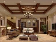 康桥融府叠拼别墅装修案例 康桥融府美式风格户型设计改造图