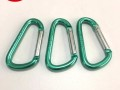 厂家直销5号D扣铝合金登山扣葫芦扣弹簧扣多功能安全扣量大从优