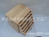 厂家直销 高档化妆品木质收纳盒 创意时尚木制桌面首饰收纳盒