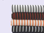 全涤色条罗马布 日韩粗条纹色织提花布料 6%弹力童装睡衣面料现供