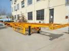 武汉40英尺  48英尺集装箱骨架半挂车专卖货车厂家1年5万公里面议