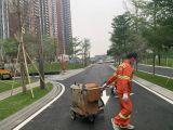 东莞热熔标线 道路划线 工业园划线 停车场划线