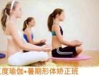 青少年暑期瑜伽培训班,纠正孩子不良体态
