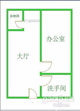 牛王庙 东恒国际 1室 1厅 53平米 整租