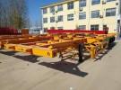 鄂州40英尺  48英尺集装箱骨架半挂车专卖货车厂家1年5万公里面议