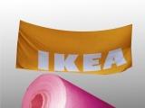 工厂货源 高精度写真喷绘 旗帜布 横幅印刷