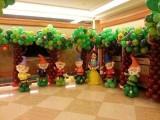 塘沽草坪宝宝宴气球装饰图