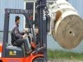 岳阳二手柴油叉车 高4米二手圆夹抱叉车/合力叉车