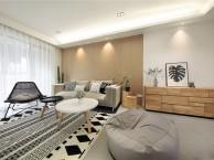 重庆生活家装饰 170m 北欧混搭风格装修设计案例