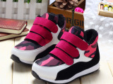 冬季新款 儿童男童女童韩版迷彩加绒运动鞋 加棉休闲鞋跑鞋A-8