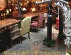 扬州咖啡厅餐厅仿古水泥漆,复古做旧地坪漆,艺术水泥