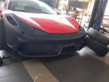 法拉利458 SP 碳纤维机盖 树脂机盖 引擎盖