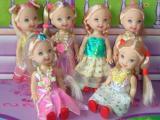 袋装玩具,小玩具,小娃娃,3.5寸娃娃,OPP袋装,多色混装
