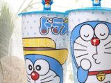 高品质多啦A梦杯子 创意叮当猫杯 可爱带盖马克杯 畅饮大容量水杯