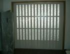 陕西西安PVC厨房阳台车间商铺工位隔断折叠门