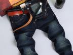 秋冬厚款男士牛仔裤韩版直筒修身 品牌男装批发 牛仔裤男式2036#
