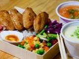 咸阳快餐团体餐会议餐现场分餐配送,食堂承包