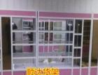 公司低价出售精品展示柜仓储货架超市货架机油货架木制