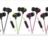 运通HA FR201 3.5MM彩色外贸欧美耳机 时尚XX系列入