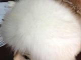 仿狐狸毛人造帽