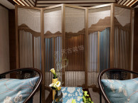 华侨城天澜美墅联排装修方案图 华侨城中式风格设计图纸