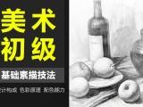 上海素描水粉培训班,哪里有美术兴趣班