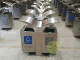 深圳不锈钢垃圾桶厂家批发 户外环保分类垃圾桶