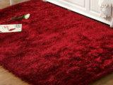 厂家批发 6厘米弹力丝纱加亮丝客厅卧室茶几床边地毯地垫 可定制