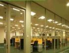 晋源区钢化玻璃隔墙安装/太原钢化玻璃门安装