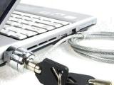 供应各种电脑密码锁 电脑笔外设锁 笔记本防盗锁