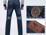 2014秋冬新款男装牛仔裤 品牌男士正品修身直筒牛仔长裤 韩版