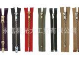 厂家批发 厂家直销 青古铜拉链 时尚服饰皮包适用 5#金属拉链开