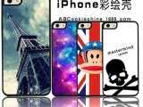 苹果iphone5s手机壳 彩绘壳 卡通保护壳 厂家批发