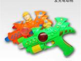 新款小熊投影发光发音电动枪 儿童创意礼品 玩具批发地摊货