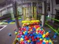 口袋屋儿童活力空间功能介绍篇--蹦床海绵池跳