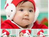 儿童帽子批发 毛线婴幼儿帽子 百搭套头帽子幼儿绒帽子兔子